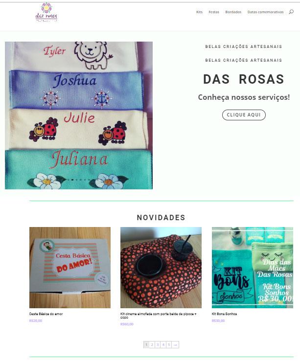 Loja Virtual Das Rosas